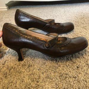 "Mudd ""Vallery"" kitten heel pump dress shoe"